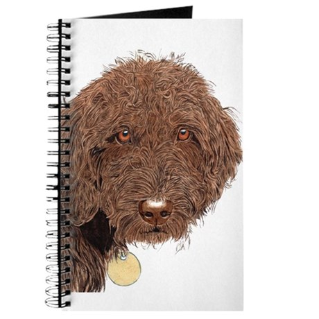 Chocolate Labradoodle 2 Journal