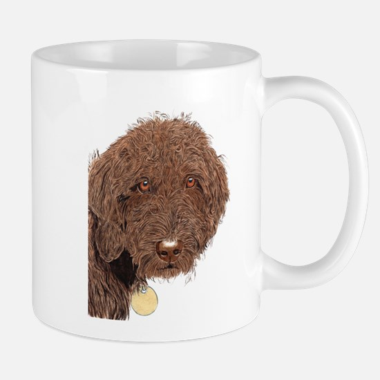 Chocolate Labradoodle 2 Mug