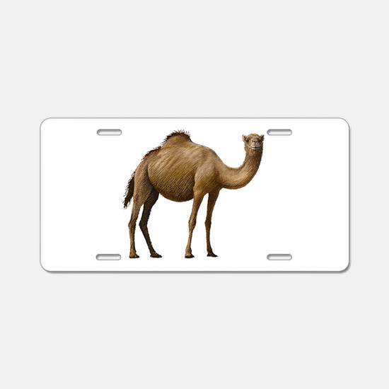 Camel Aluminum License Plate