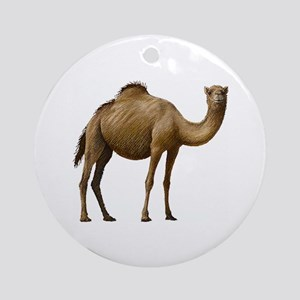 Camel Ornament (Round)