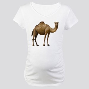 Camel Maternity T-Shirt