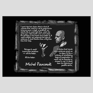 Foucault's Critique Wall Art