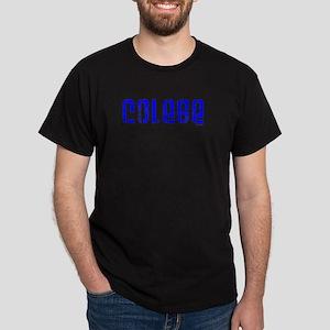 Colege Black T-Shirt