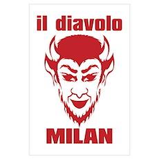 DIAVOLO MILAN Wall Art Poster