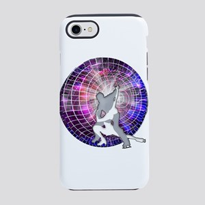 Ice Dancers in Colorful Circul iPhone 7 Tough Case