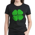 Four Leaf Clover Women's Dark T-Shirt