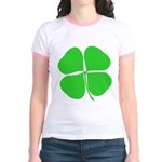 Four Leaf Clover Jr. Ringer T-Shirt