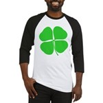 Four Leaf Clover Baseball Jersey