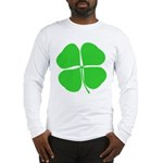 Four Leaf Clover Long Sleeve T-Shirt