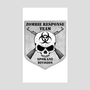 Zombie Response Team: Spokane Division Sticker (Re