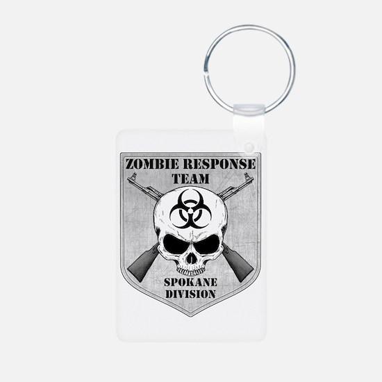 Zombie Response Team: Spokane Division Keychains