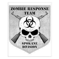Zombie Response Team: Spokane Division Posters