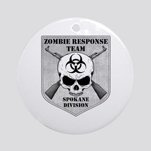 Zombie Response Team: Spokane Division Ornament (R