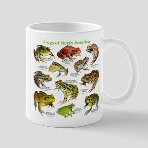 Frogs of North America Mug