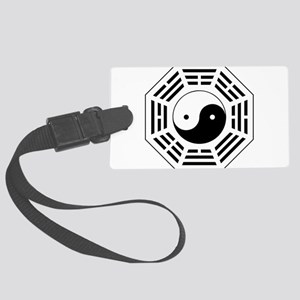 8 Trigrams Later Heaven Large Luggage Tag