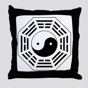 8 Trigrams Later Heaven Throw Pillow