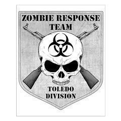 Zombie Response Team: Toledo Division Posters