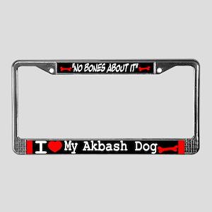 Akbash Dog Gifts License Plate Frame