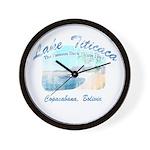Lake Titicaca '94 Wall Clock