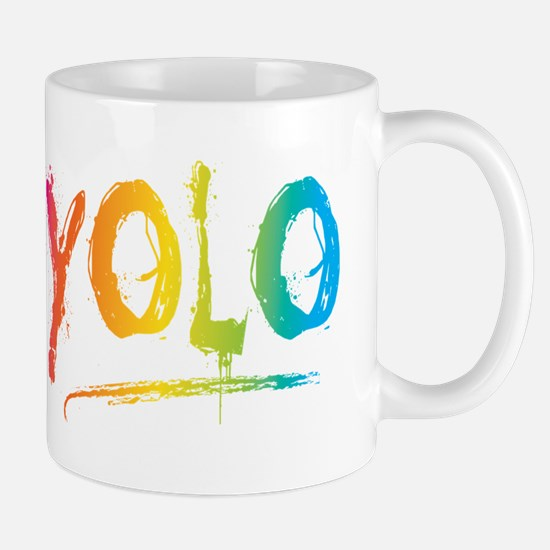 YOLO Bright Mugs