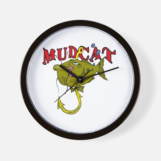 MUD CAT Wall Clock