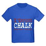 Wearing Chalk Kids Dark T-Shirt