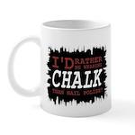 Wearing Chalk Mug