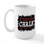 Wearing Chalk Large Mug