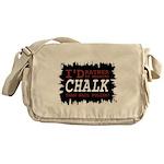 Wearing Chalk Messenger Bag