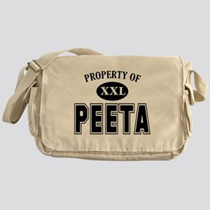 Property of Peeta Messenger Bag