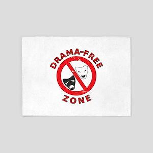 Drama Free Zone 5'x7'Area Rug