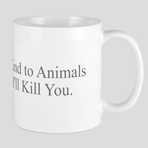 Be Kind to Animals Mugs