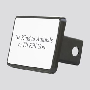 Be Kind to Animals Rectangular Hitch Cover