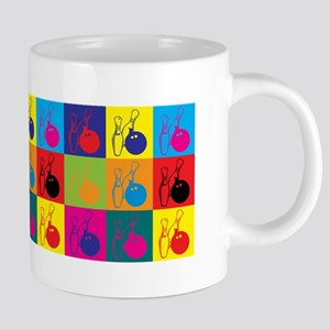 Bowling Pop Art Mugs