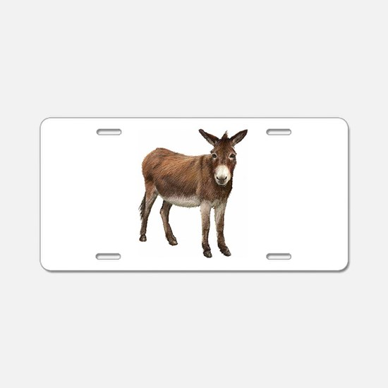 Donkey Aluminum License Plate
