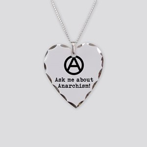 Ask Me! Necklace Heart Charm