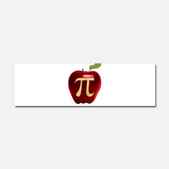 Apple Pi Car Magnet 10 x 3