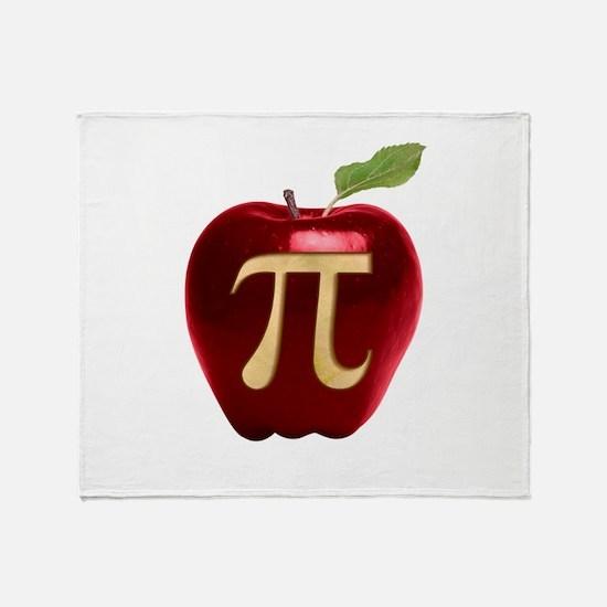 Apple Pi Throw Blanket