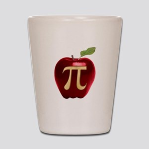 Apple Pi Shot Glass