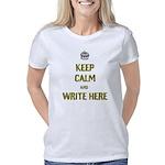 Keep Calm customisiable Women's Classic T-Shirt