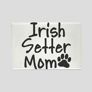 Irish Setter MOM Rectangle Magnet
