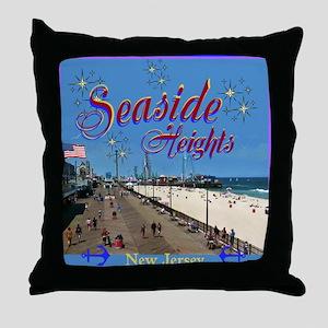 Seaside Heights Throw Pillow
