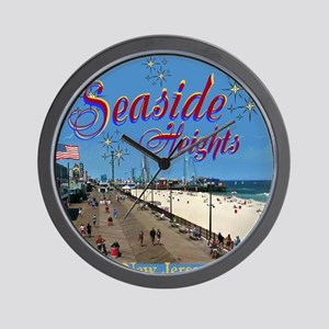 Seaside Heights Wall Clock