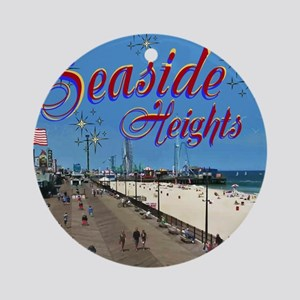 Seaside Heights Round Ornament