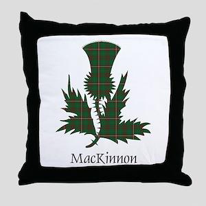 Thistle-MacKinnon hunting Throw Pillow