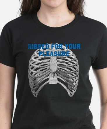 Ribbed For Your Pleasure Women's Dark T-Shirt