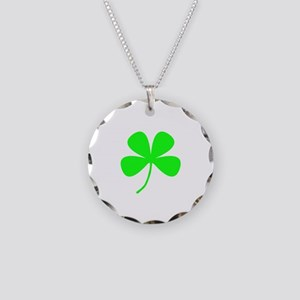 Irish St. Patrick's Day Necklace Circle Charm