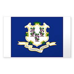Connecticut Sticker (Rectangle)