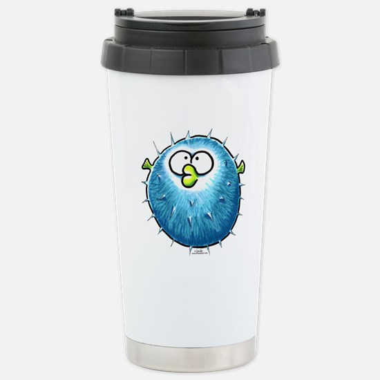 Funny Blowfish Stainless Steel Travel Mug