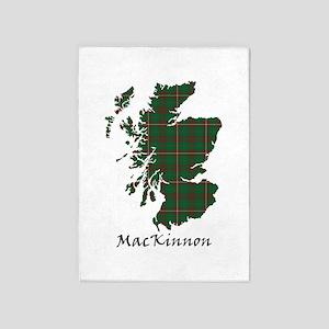 Map-MacKinnon hunting 5'x7'Area Rug